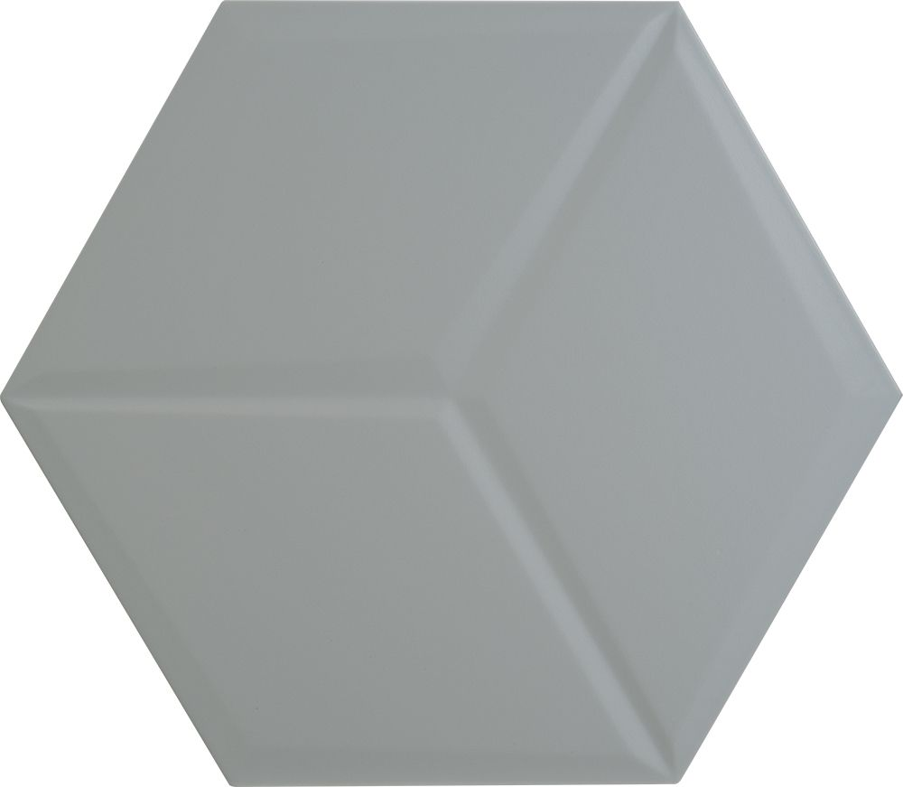 Tagina Details Grey Hex Matt Peace Настенная плитка
