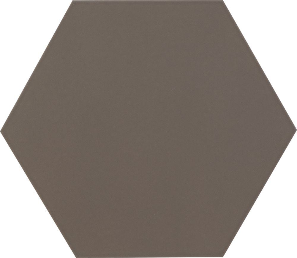 Tagina Details Brown Hex Matt Floor Field Настенная плитка